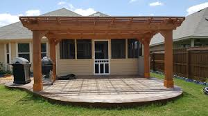 Pergola On Concrete Patio by Before U0026 After Pictures 2017
