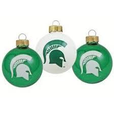 michigan state spartans led light up ornament basement msu