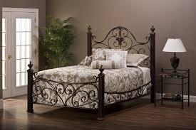 Metal Frame Bed Queen Bed Frames Black Wrought Iron Bedroom Set Iron California King