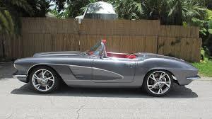 corvette restomod 1961 chevrolet corvette resto mod s161 dallas 2015