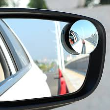 Mirrors For Blind Spots On Cars 1pair Wide Angle Side Round Convex Mirror Rearview Mirror Car