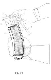 patent us20130232843 magazine loading device for loading bullets