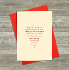 Anniversary Card For Wife Message Love Card With Message Anniversary Card Wedding Day Card