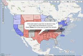 interactive map of the us interactive us electoral college map in maps search