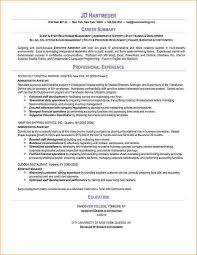 Executive Administrative Assistant Resume Sample by Administrative Assistant Resume Sample Business Proposal