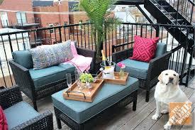 outdoor balcony furniture ideas balcony height swivel patio chairs