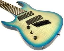 9 string fanned fret left handed agile guitars leftyfretz com