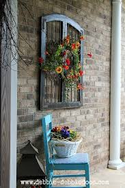 Thrifty Blogs On Home Decor Thrifty Makeovers Take 2 Chair Makeover Porch And Front Porches