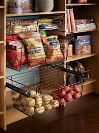 Pullouts For Kitchen Cabinets Pullout Pantry Shelving Solutions Hgtv