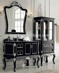 Antique Style Bathroom Vanity by Luxury Hand Carved Wooden Bathroom Vanity Set Victorian Style