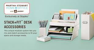 Martha Stewart Desk Accessories Martha Stewart Living Ominimedia Is Coming Back To Staples This