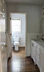 Beadboard In Small Bathroom - bathroom lovely soft blue small bathroom color nuance with floral