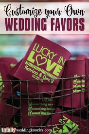 totally wedding koozies coupon code customize your own wedding favor with us your guests will