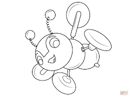 cute bumble bee coloring pages coloring page bee