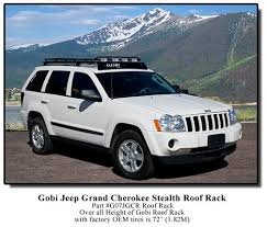 jeep grand luggage rack gobi jeep grand wk stealth rack alpha expedition