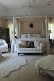 bedroom marvelous white wood canopy bed design founded project