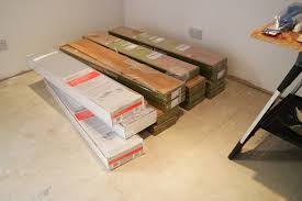 Insulated Underlay For Laminate Flooring The Corkscrew Lines Garage Conversion U0026 Helix House Images