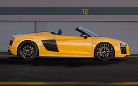 Audi R8 Yellow 2016 - audi r8 spyder 2016 wallpapers wallpaper cave
