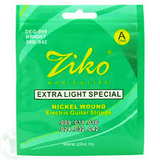light electric guitar strings ziko electric guitar strings set extar light soft guitar strings