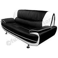 Nina Leather Sofa Stunning New Nina 3 2 Seater White Faux Leather Sofa Foam Filled