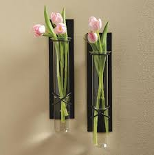 Wall Mounted Glass Flower Vases Best 25 Wall Vases Ideas On Pinterest Wall Candle Holders