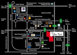 map usj 2 usj one park condominium usj 1 usj uep subang jaya selangor