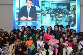 Breastfeeding Campaign Supported by Ang Dating Daan and UNTV     UNTV At    am  mother and child participants from Marikina Convention Center and in various breastfeeding