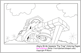 angry birds seasons coloring pages gekimoe u2022 36435