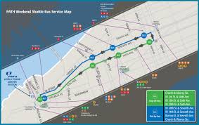 New York Bus Map by 33rd Street Line Closures The Port Authority Of Ny U0026 Nj