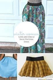 winter woman 10 long and circle skirt pattern ideas seams and