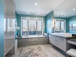 blue and gray bathroom ideas trendy bathrooms that combine gray and color in sensational style