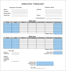 Bi Weekly Timesheet Template Excel Sheet Calculator Templates 15 Free Documents In