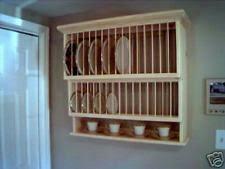wood plate rack ebay