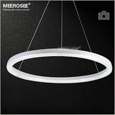 best led ring light 26 inch led ring light fixture acrylic pendant light modern led