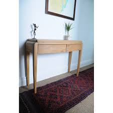 Small Console Table Grian Furnishers Waldorf Oak Small Console Table Bluebone