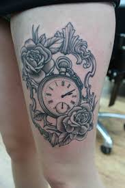 black and grey meaning top pocket and clock