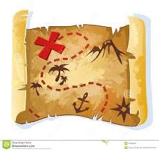 treasure map clipart treasure map royalty free stock photo image 20965055