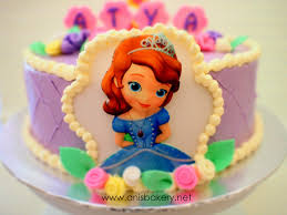 sofia the first birthday cake a photo on flickriver