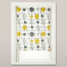 Cotton Roller Blinds Mini Moderns Retro Syle Roller Blinds Exclusive To John Lewis