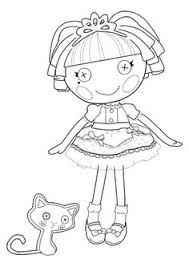 lalaloopsy tuffet muffet coloring coloring pages