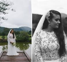 fashionable plus size western style wedding dresses from