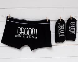 Best Man Socks Personalised Groom Gift Set Socks U0026 Underwear Groomsman Best