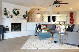 Pottery Barn Malika Rug by Living Room Rug Living Room Design Rug Placement Living Room