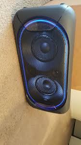 sony high powered bluetooth light up speaker gtk xb5 sony gtkxb60 high power portable bluetooth speaker it s new no box