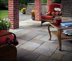 How To Lay Patio Pavers On Dirt by Outdoor Slate Tile Patio Flooring Options Expert Tips Install