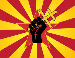 Soviet Russian Flag Fist Clipart Russian Pencil And In Color Fist Clipart Russian