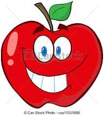 apple cartoon happy red apple cartoon mascot character vector search clip art
