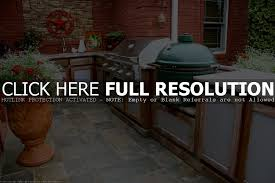 cabinet green egg kitchen big green egg built into outdoor