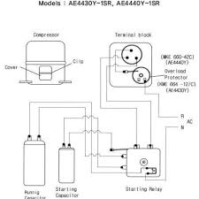 inspiring wiring diagram for compressor relay inspiring wiring ideas