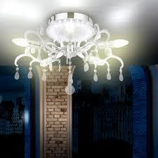 Wohnzimmer Lampen Ebay Design Deckenleuchte Kristall Leuchte Lampe Edel Elegant